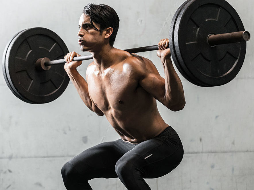Приседания со штангой - как увеличить вес