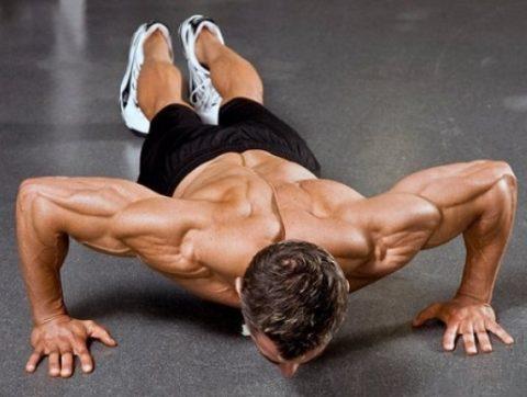 Как набрать мышечную массу с помощью отжиманий?