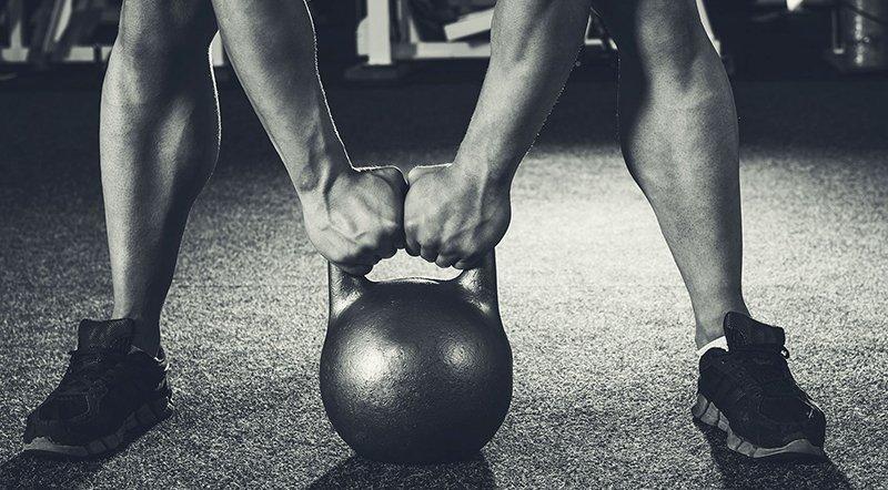 Польза становой тяги с гирей