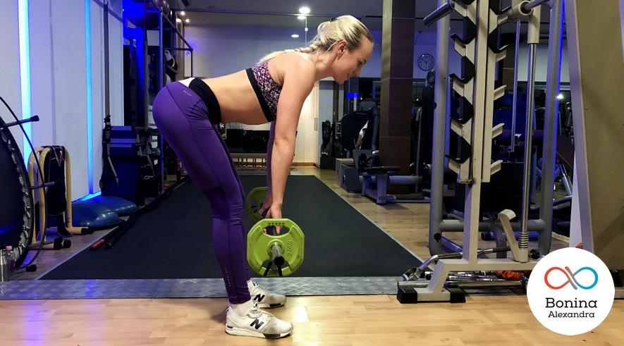Румынская тяга вид становой тяги