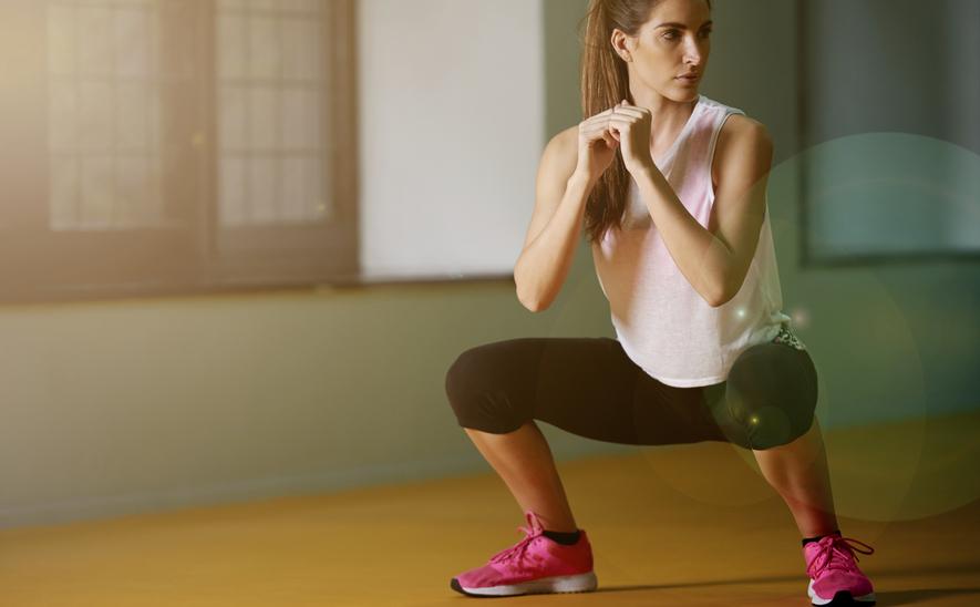 Приседания плие: работающие мышцы