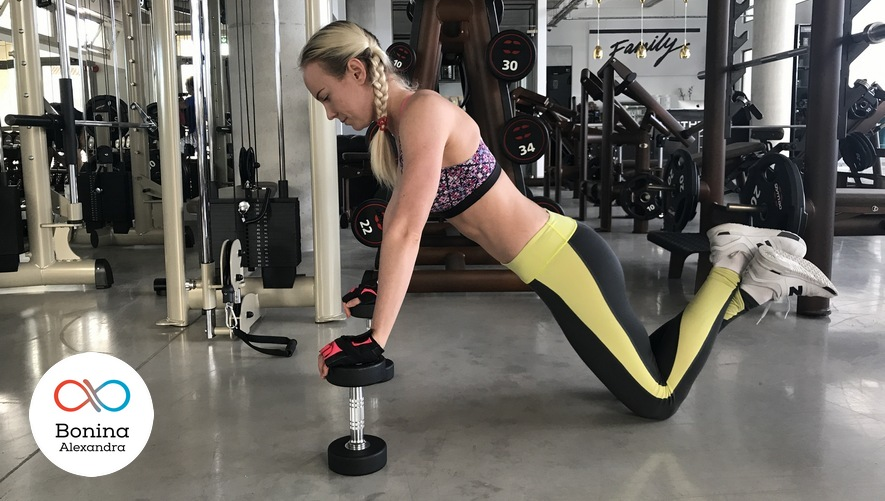 Глубокие отжимания для похудения