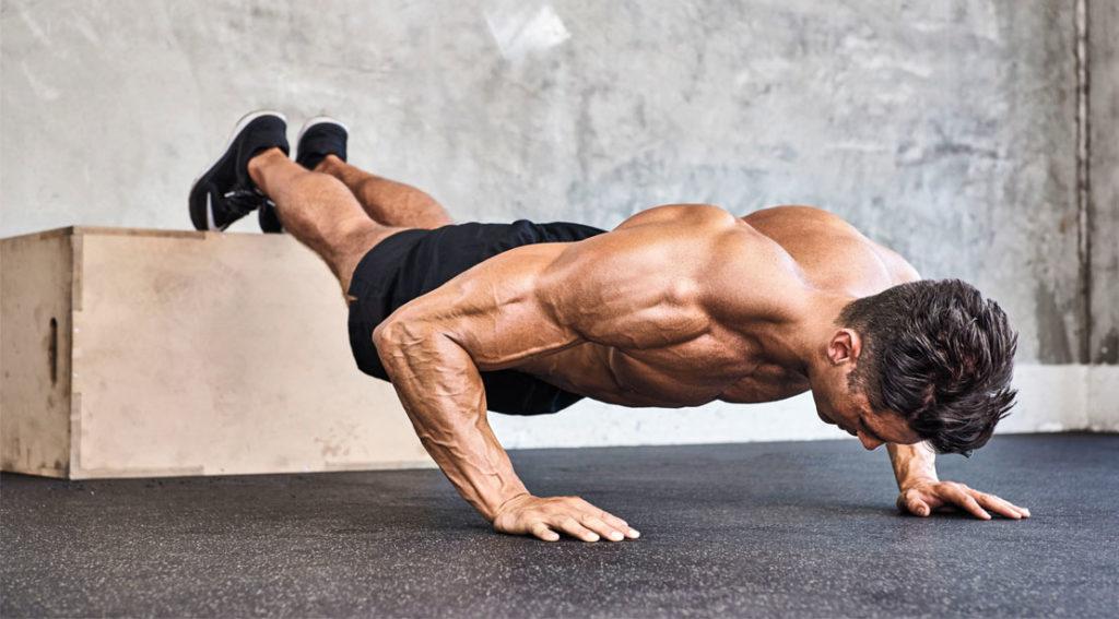 Как накачать мышцы спины отжиманиями
