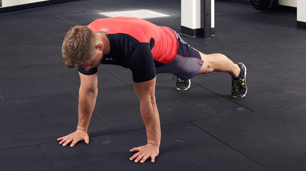 Отжимания для мышц спины