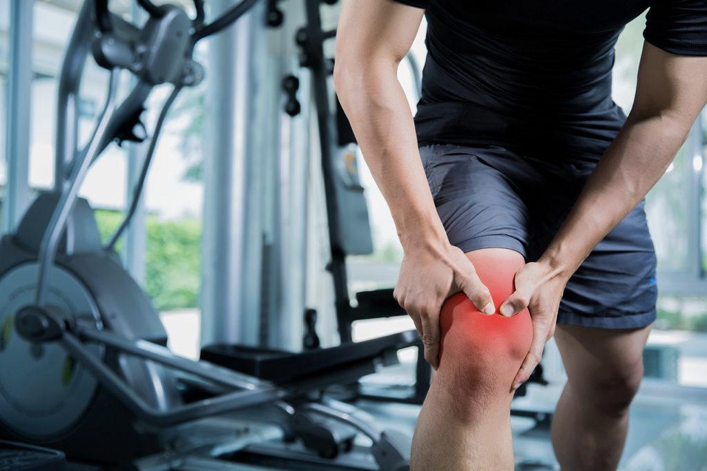 Чрезмерные нагрузки на коленный сустав