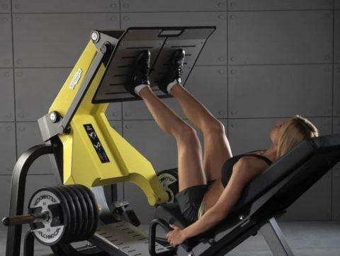 Как правильно делать жим ногами в тренажере