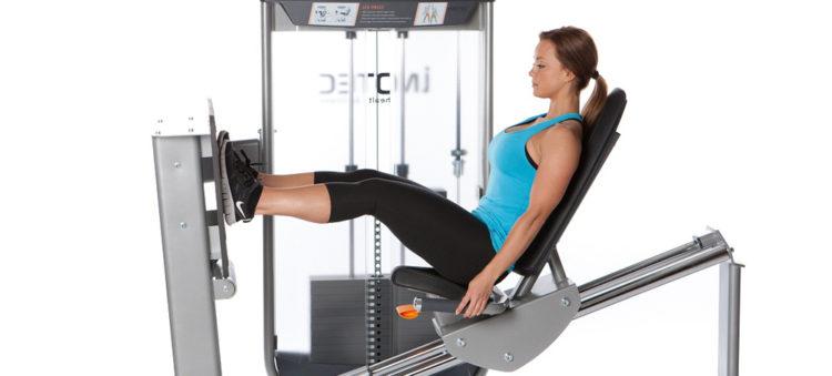 Польза жима ногами в тренажере для девушек