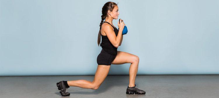 Мышцы задействованные в выпадах с гирей