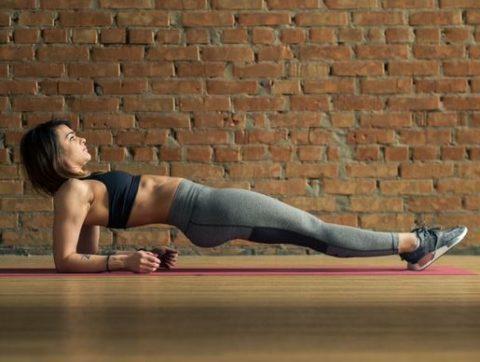Обратная планка – эффективное упражнение для работы всех групп мышц