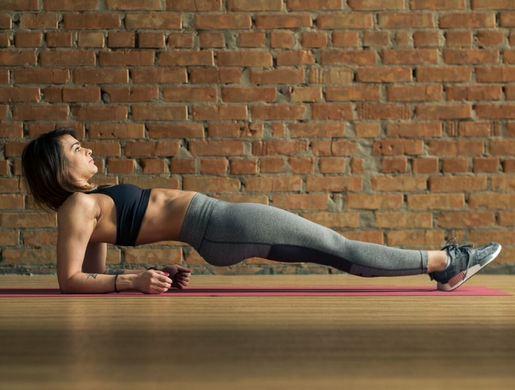 Обратная планка - эффективное упражнение для работы всех групп мышц