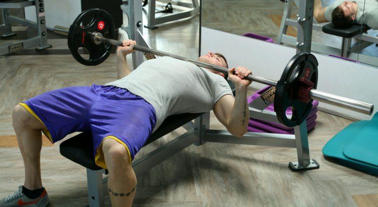 Включение упражнения в тренировку