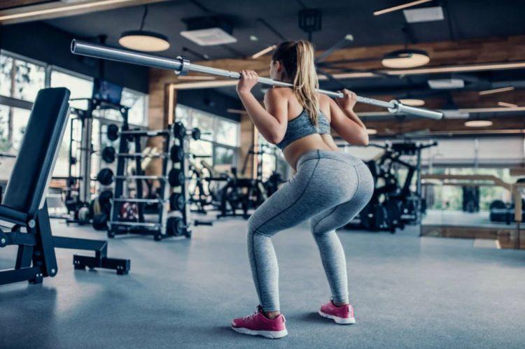 Приседания для наращивания мышечной массы