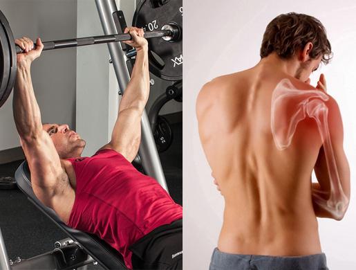 Боль в плече при жиме штанги лежа: как отличить травму от забитых мышц
