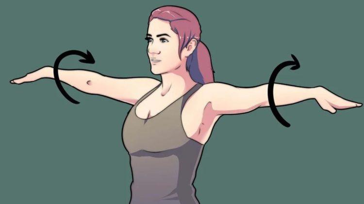 Правила занятий лфк при артрозе плеча