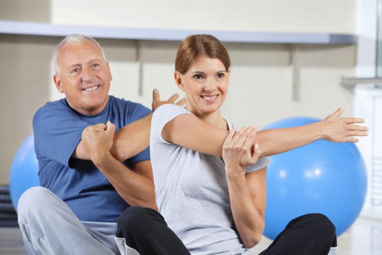 Статические упражнения для плечевого сустава