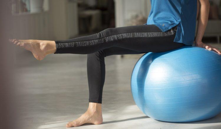 Как подобрать фитбол для упражнений?