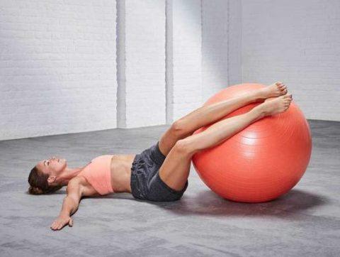 Упражнения на мяче (фитболе) при грыже позвоночника