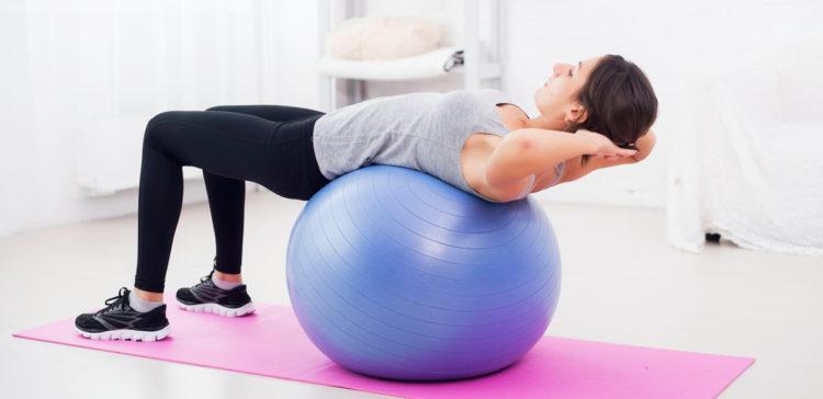 Польза упражнений на фитболе при грыже позвоночника