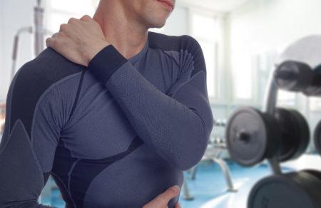 Боль в плечах после тренировки