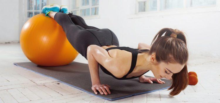 Преимущества упражнений на фитболе