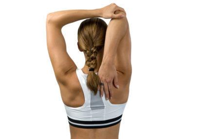 Растяжка плеч и рук