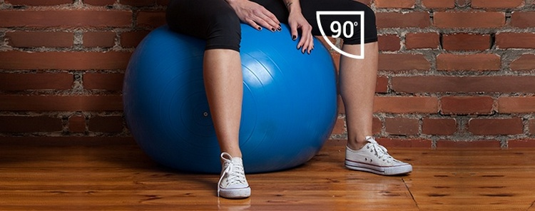 Как подобрать фитбол для занятий