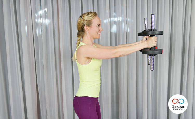 Польза тренировок на дельты с гантелями для девушек