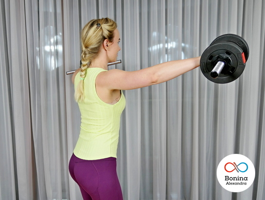 Упражнения для разминки плеч