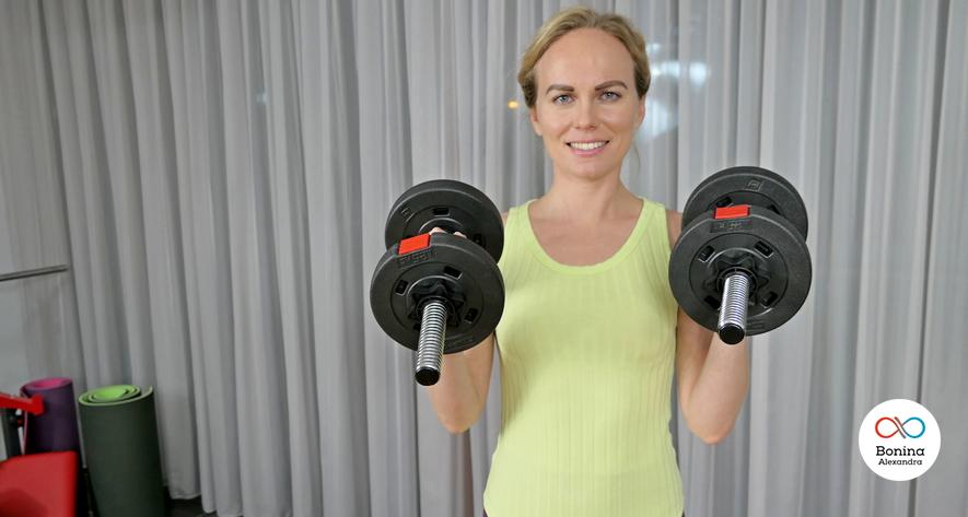 Чем полезны тренировки на плечи с отягощением